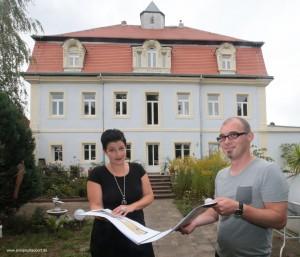 Besitzer des Gutshauses Gestewitz laden zum Jubiläum 925 Jahre ins restaurierte Gutshaus ein
